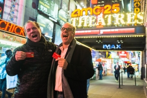 MoviePass Mitch Lowe and Ted Farnsworth