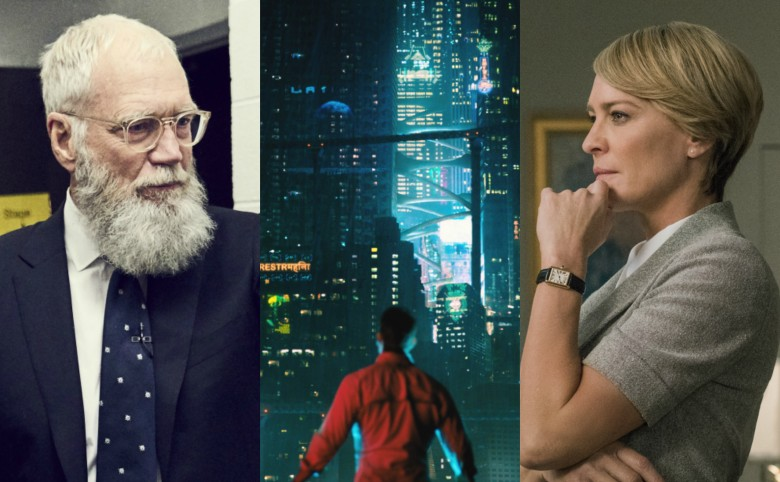 Netflix David Letterman Altered Carbon Robin Wright