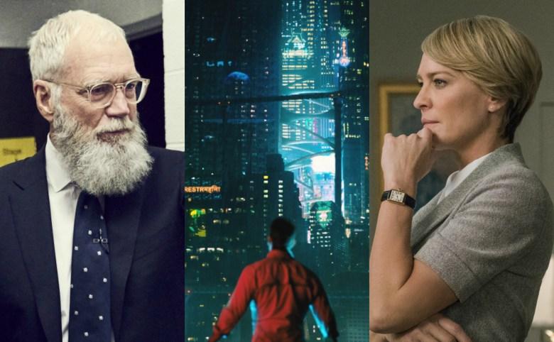 Netflix David Letterman Altered Carbon Robin Wright