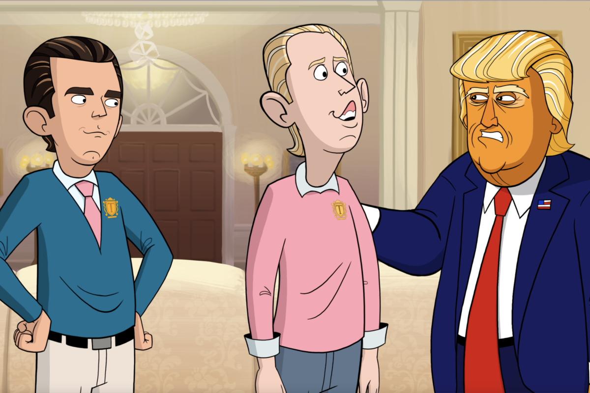 Our Cartoon President Season 1 Episode 1 Showtime Donald Trump Jr Eric Trump Donald Trump