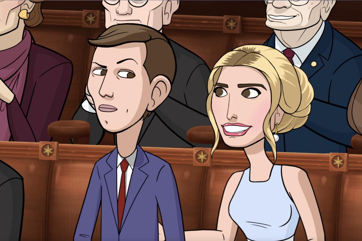 Our Cartoon President Season 1 Showtime Jared Kushner Ivanka Trump