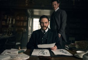 The Alienist Season 1 Daniel Bruhl Luke Evans