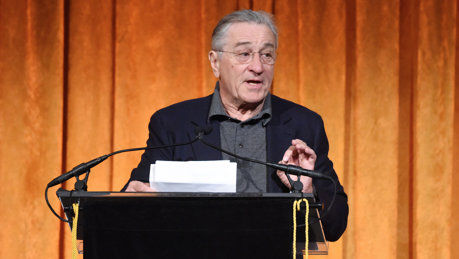 Robert De Niro attacks Trump in profane rant at awards gala