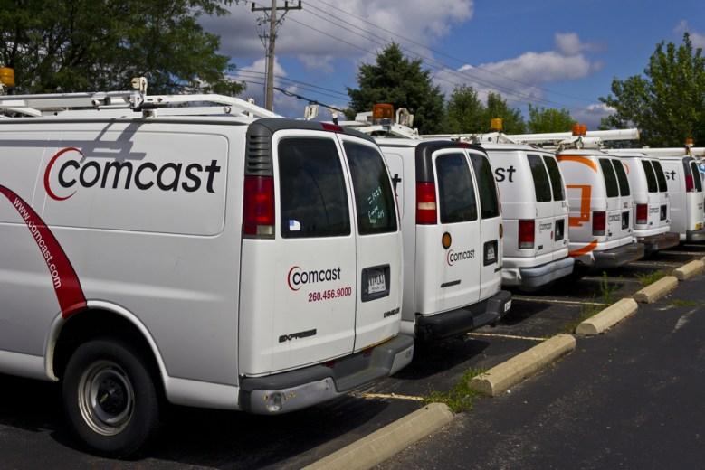Comcast Trucks