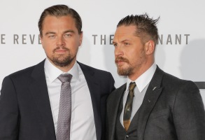 Tom Hardy, Leonardo DiCaprio'The Revenant' film premiere, Los Angeles, America - 16 Dec 2015