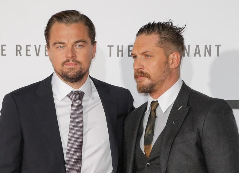 Tom Hardy, Leonardo DiCaprio'The Revenant' film premiere, Los Angeles, America - 16 Dec 2015