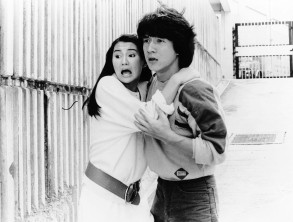 No Merchandising. Editorial Use Only. No Book Cover Usage.Mandatory Credit: Photo by Paragon/Golden Harvest/Kobal/REX/Shutterstock (5871453a)Jackie ChanPolice Story - 1985Director: Jackie ChanParagon/Golden HarvestHONG KONGScene StillAction/AdventureJackie Chan's Police Story