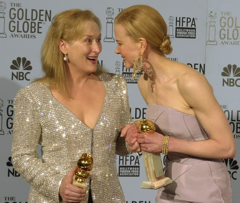Meryl Streep Nicole Kidman Golden Globes