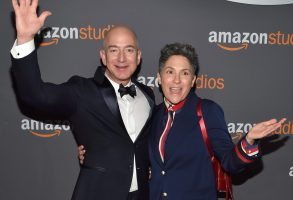 Jeff Bezos and Jill SolowayAmazon Golden Globes After Party, Arrivals, Los Angeles, USA - 08 Jan 2017