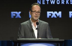 John Landgraf, CEO of FX Networks and FX Productions, participates in the executive panel during the FX Television Critics Association Summer Press Tour at the Beverly Hilton, in Beverly Hills, Calif2017 Summer TCA - FX, Beverly Hills, USA - 09 Aug 2017