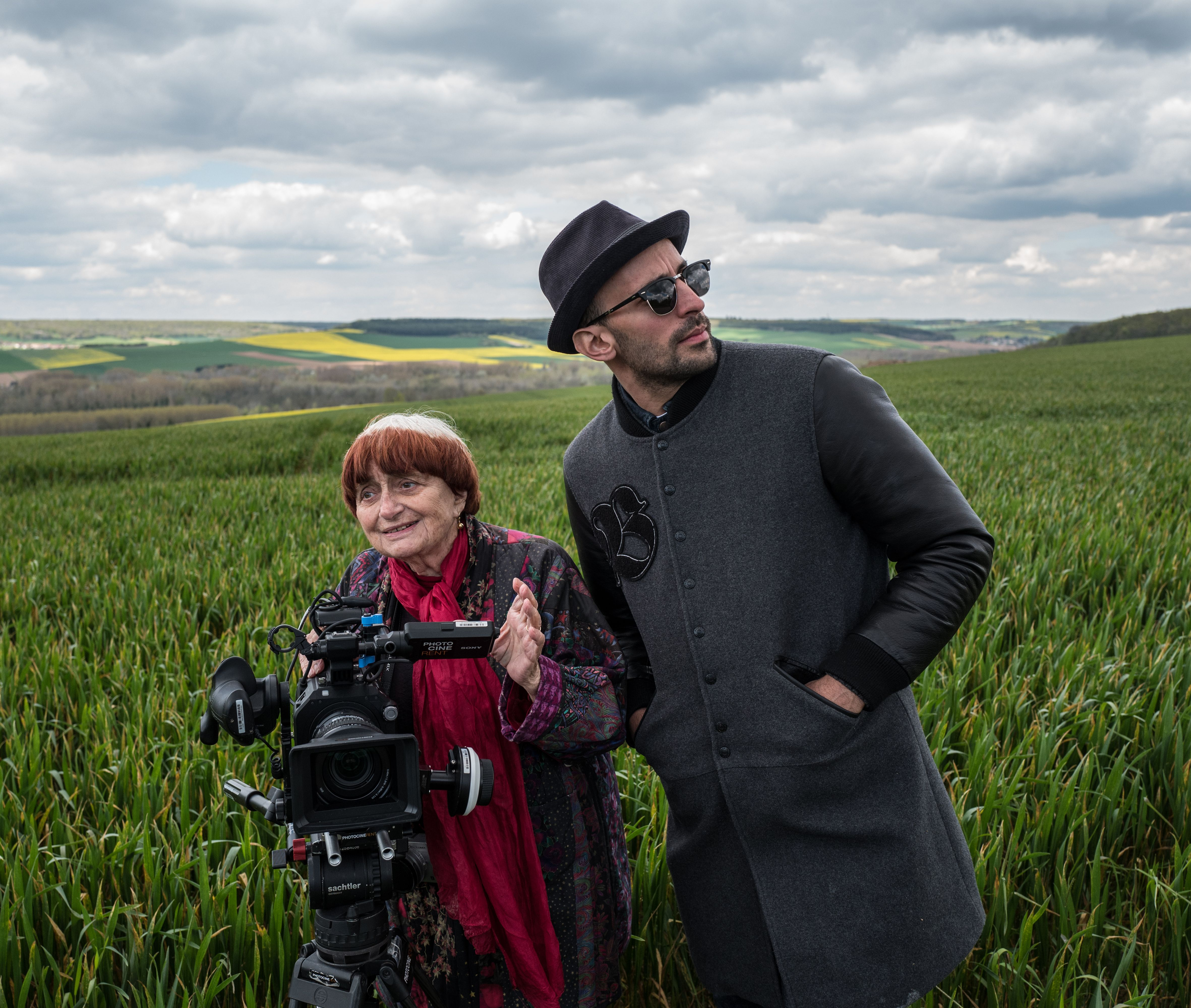 "No Merchandising. Editorial Use Only. No Book Cover UsageMandatory Credit: Photo by Ciné Tamaris/Kobal/REX/Shutterstock (9132805e)Agnes Varda, JR""Faces Places"" Documentary- 2017"