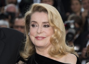 Catherine Deneuve poses for photographers upon arrival at the screening of the film The Killing Of A Sacred Deer at the 70th international film festival, Cannes, southern France2017 The Killing Of A Sacred Deer Red Carpet, Cannes, France - 22 May 2017