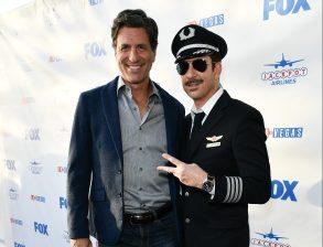 Steven Levitan and Dylan McDermott'LA to Vegas' TV show premiere, Arrivals, Los Angeles, USA - 07 Dec 2017