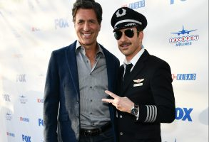 Steven Levitan and Dylan McDermott'LA to Vegas' TV show premiere, Arrivals, Los Angeles, USA - 07 Dec 2017