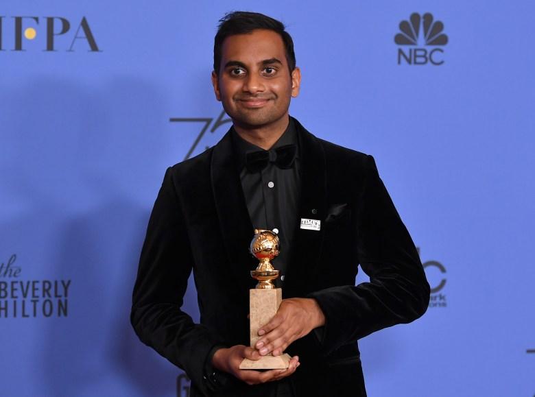 Aziz Ansari Golden Globes