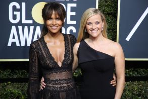 Halle Berry and Reese Witherspoon75th Annual Golden Globe Awards, Arrivals, Los Angeles, USA - 07 Jan 2018