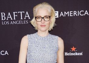 Gillian AndersonBAFTA Tea Party, Los Angeles, USA - 06 Jan 2018British Academy of Film and Television Arts Los Angeles Angeles Hosts the 2018 Bafta Tea Party