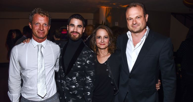 Tom Rob Smith, Darren Criss, Nina Jacobson and Brad Simpson'The Assassination of Gianni Versace: American Crime Story' TV show premiere, After Party, Los Angeles, USA - 08 Jan 2018