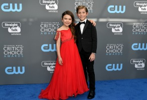 Brooklynn Prince and Jacob TremblayCritics' Choice Awards, Arrivals, Los Angeles, USA - 11 Jan 2018