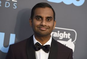 Aziz Ansari arrives at the 23rd annual Critics' Choice Awards at the Barker Hangar, in Santa Monica, Calif23rd Annual Critics' Choice Awards - Arrivals, Santa Monica, USA - 11 Jan 2018