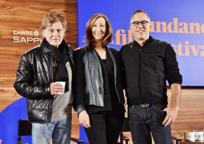 Robert Redford, Keri Putnam, and John CooperfSundance Film Festival Opening Press Conference, Park City, USA - 18 Jan 2018