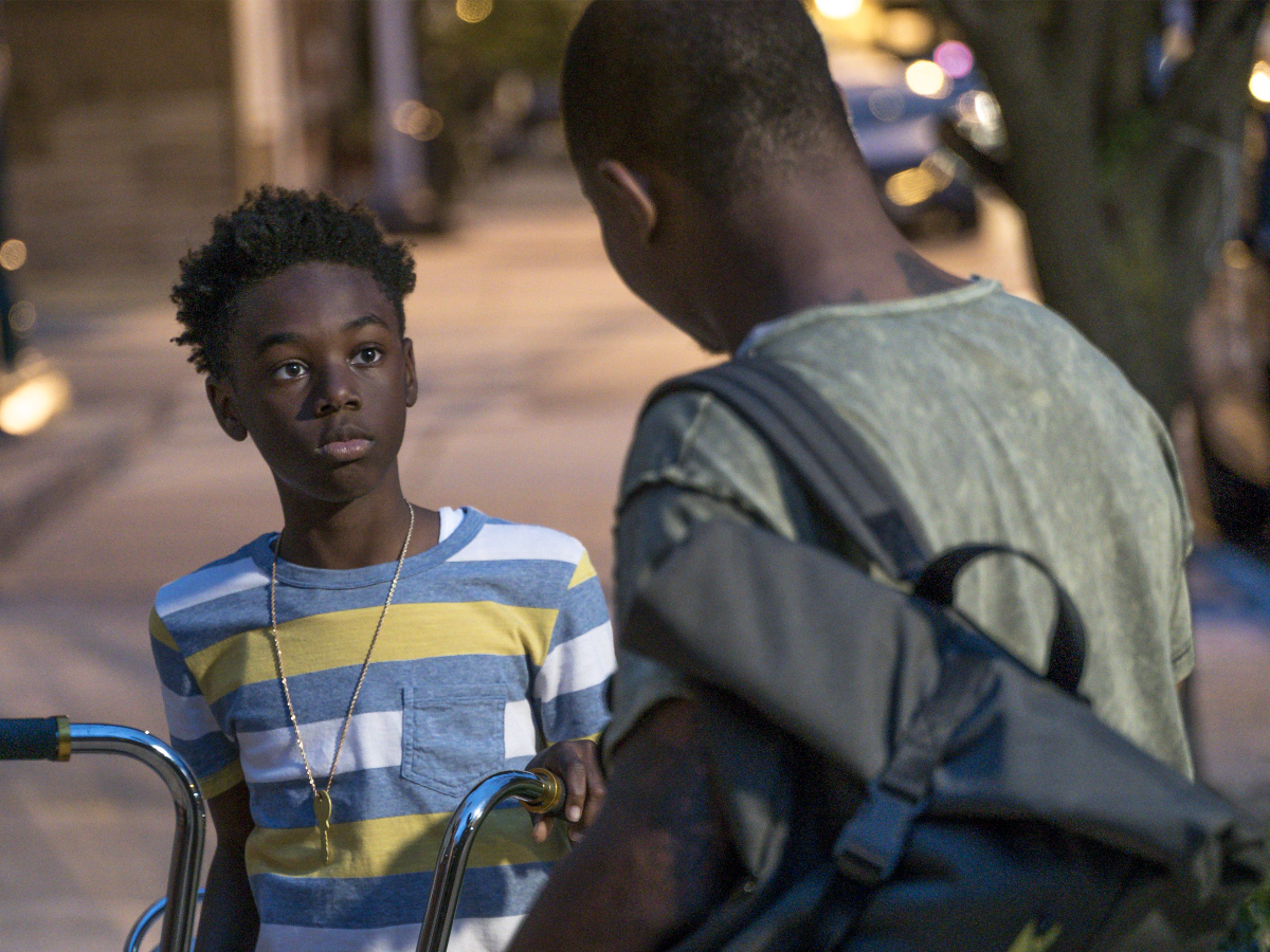 The Chi Season 1 Episode 3 Alex Hibbert and Jason Mitchell