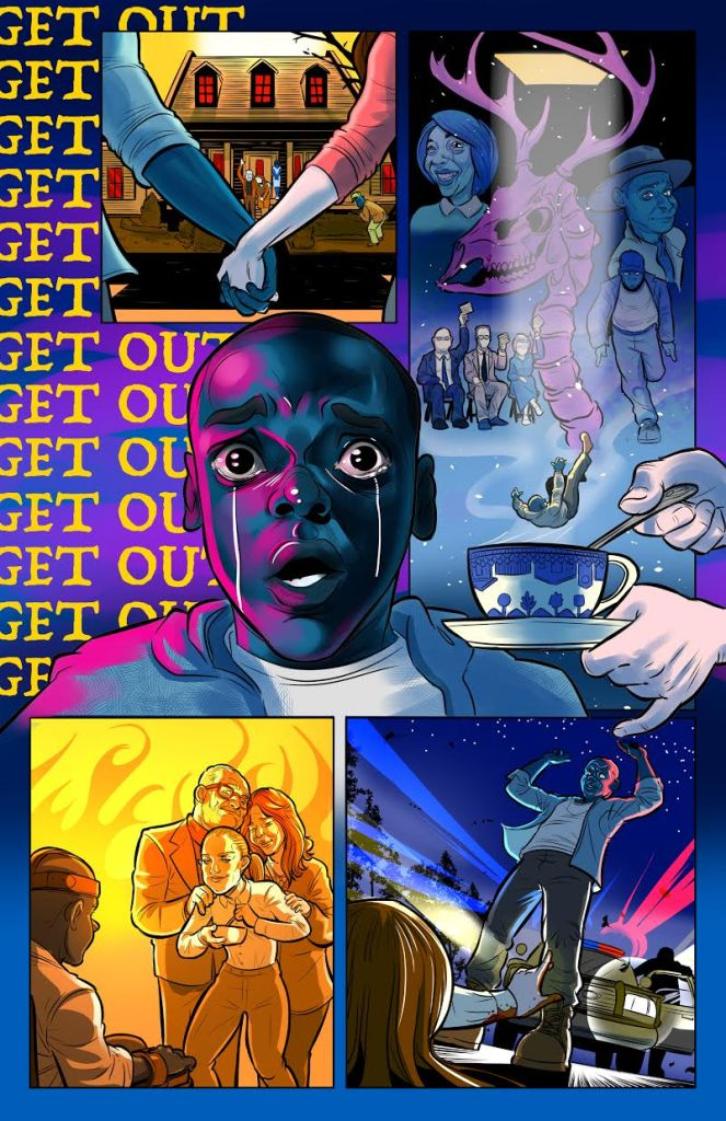 Get Out Comic Strip by Ben Matsuya