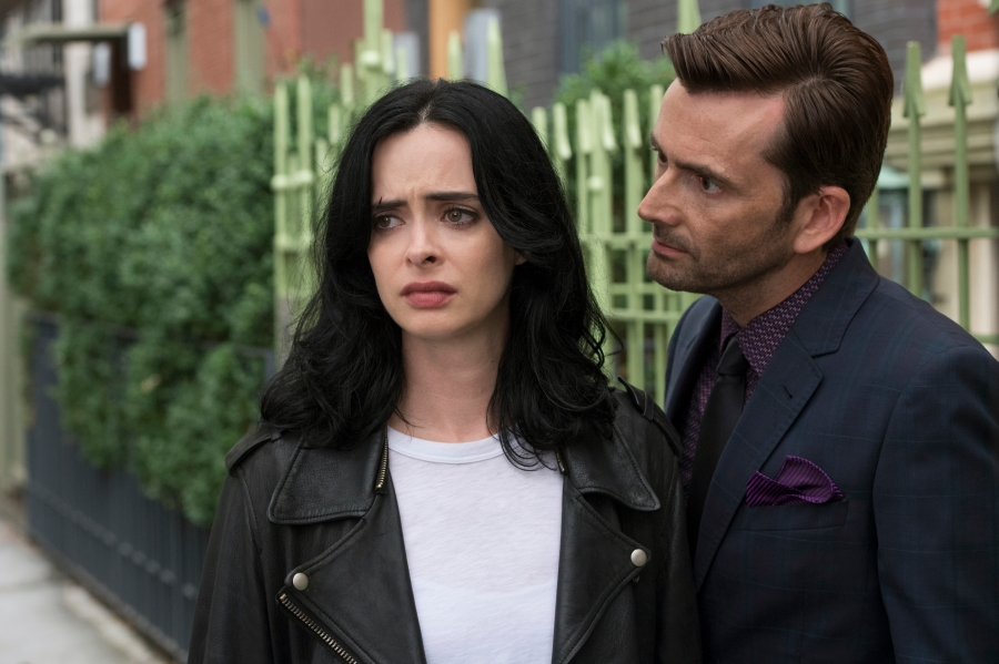 "Krysten Ritter and David Tennant, ""Jessica Jones"""