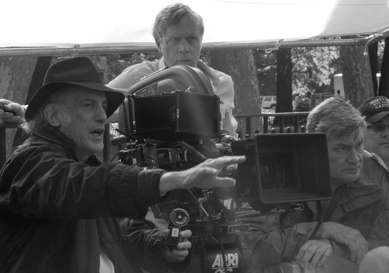 "Ed Lachman and Todd Haynes on the set of ""Wonderstruck"""
