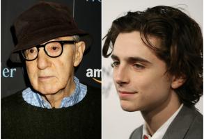 Woody Allen Timothee Chalamet