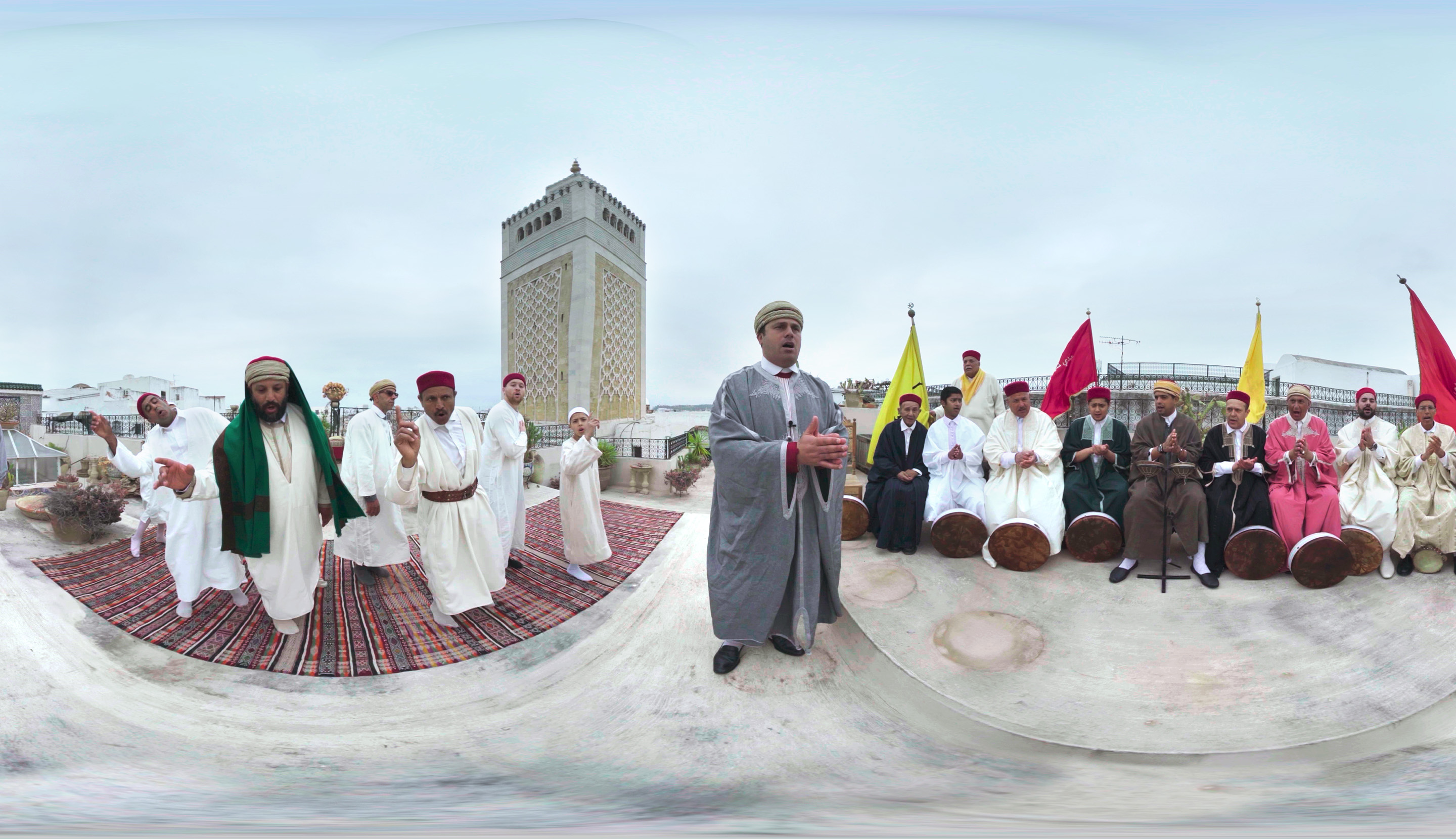 A still image from <i>Zikr: A Sufi Revival</i> by Gabo Arora, John Fitzgerald and Matthew Niederhauser, an official selection of the New Frontier VR Experiences program at the 2018 Sundance Film Festival. Courtesy of Sundance Institute. All photos are copyrighted and may be used by press only for the purpose of news or editorial coverage of Sundance Institute programs. Photos must be accompanied by a credit to the photographer and/or 'Courtesy of Sundance Institute.' Unauthorized use, alteration, reproduction or sale of logos and/or photos is strictly prohibited.
