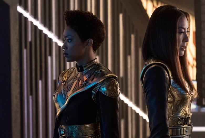 Star Trek Discovery Michelle Yeoh Sonequa Martin-Green
