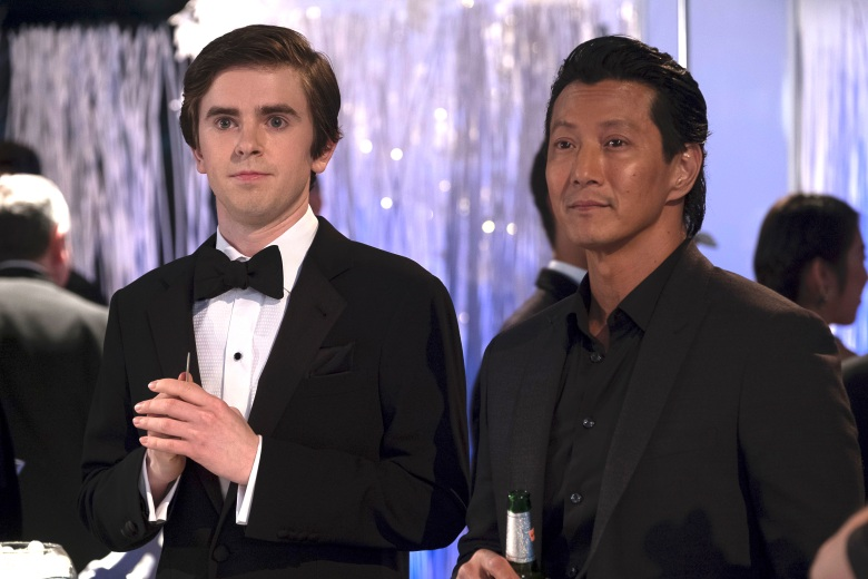 """Freddie Highmore and Will Yun Lee, """"The Good Doctor"""""""