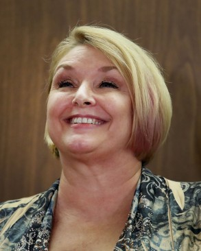 Samantha GeimerRoman Polanki court hearing, Los Angeles, USA - 09 Jun 2017Samantha Geimer answers question from the media after reading a statement in Filmmaker Roman Polanski's hearing in Superior Court in Los Angeles, California, USA 09 June 2017. Polanski is a fugitive in connection with his 1977 guilty plea to unlawful sexual intercourse with a 13-year-old girl. Polanski's victim, Samantha Geimer, was in the court to address the judge and asked him to end the case.