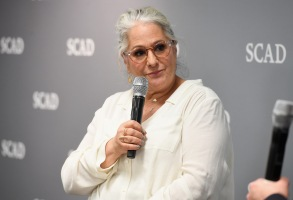 ATLANTA, GA - FEBRUARY 01:  Writer and producer Marta Kauffman speaks during a panel on Day 1 of the SCAD aTVfest 2018 on February 1, 2018 in Atlanta, Georgia.  (Photo by Paras Griffin/Getty Images for SCAD aTVfest 2018 )