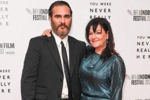 Joaquin Phoenix, Lynne Ramsay'You Were Never Really Here' premiere, BFI London Film Festival, UK - 14 Oct 2017