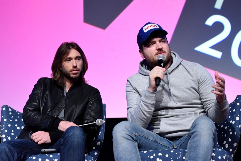 ATLANTA, GA - FEBRUARY 03: Coty Galloway and Olan Rogers speak during a screening and Q&A for 'Final Space' on Day 3 of the SCAD aTVfest 2018 on February 3, 2018 in Atlanta, Georgia. (Photo by Vivien Killilea/Getty Images for SCAD aTVfest 2018 )