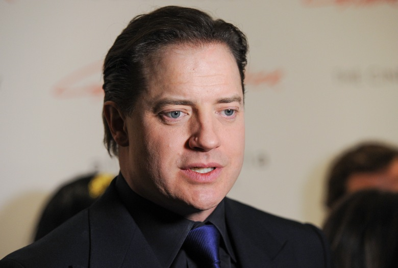 "Actor Brendan Fraser attends a special screening of ""Gimme Shelter"" hosted by The Cinema Society at the Museum of Modern Art on in New YorkNY Special Screening of ""Gimme Shelter"", New York, USA - 22 Jan 2014"