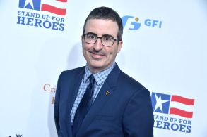 John Oliver11th Annual Stand Up for Heroes, presented by the New York Comedy Festival and The Bob Woodruff Foundation, Show, New York, USA - 07 Nov 2017