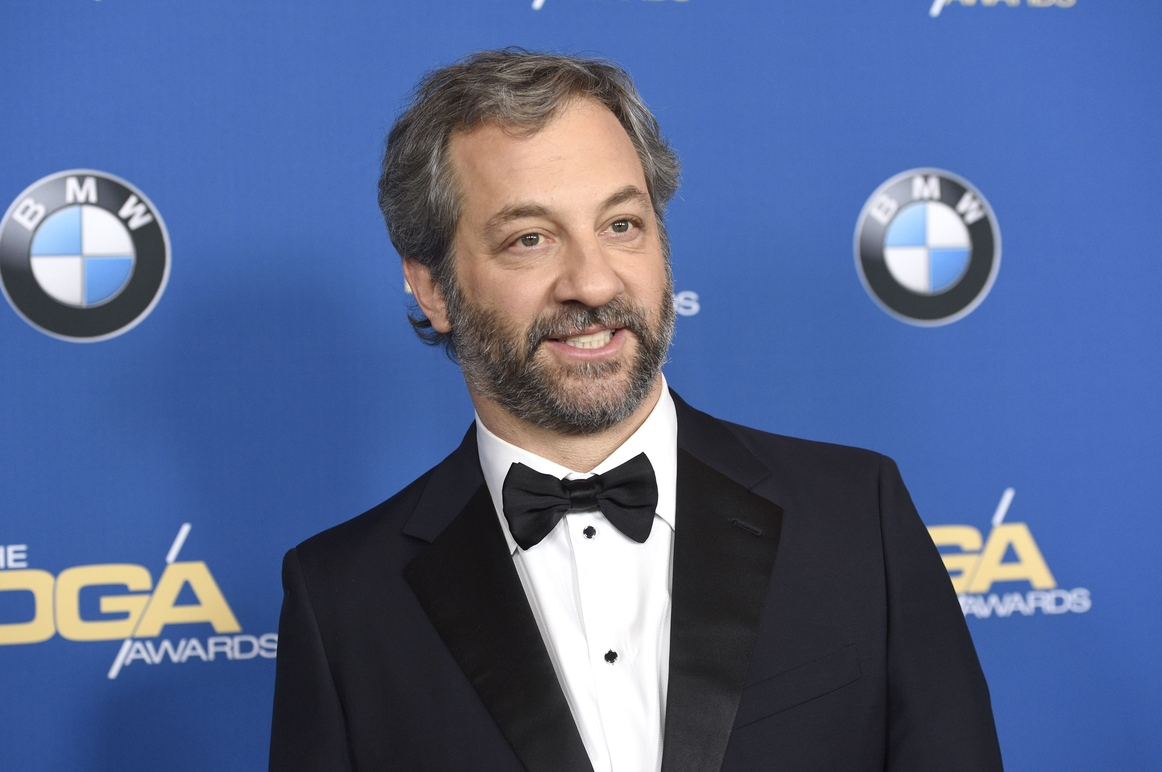 Judd Apatow arrives at the 70th annual Directors Guild of America Awards at The Beverly Hilton hotel, in Beverly Hills, Calif70th Annual DGA Awards - Arrivals, Beverly Hills, USA - 03 Feb 2018