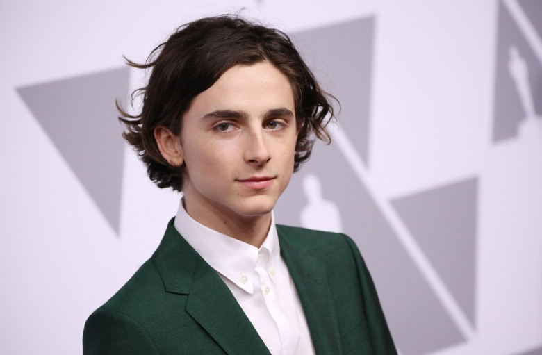 Timothee ChalametThe Academy Awards Nominees Luncheon, Arrivals, Los Angeles, USA - 05 Feb 2018