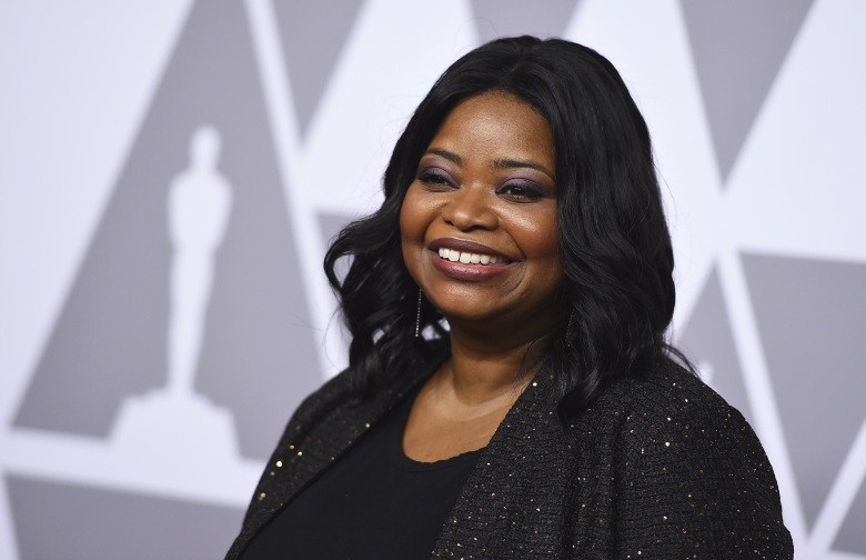Octavia Spencer arrives at the 90th Academy Awards Nominees Luncheon at The Beverly Hilton hotel, in Beverly Hills, Calif90th Academy Awards Nominees Luncheon - Arrivals, Beverly Hills, USA - 05 Feb 2018