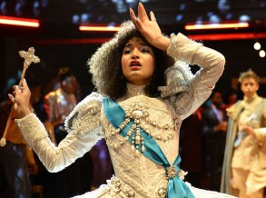 """POSE -- """"Pilot"""" -- Season 1, Episode 1 (Airs Sunday, June 3, 9:00 p.m. e/p)  Pictured:  Indya Moore as Angel. CR: JoJo Whilden/FX"""