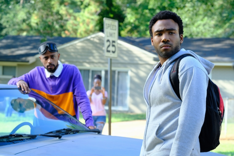 "ATLANTA -- ""Alligator Man"" -- Season Two, Episode 1 (Airs Wednesday, March 1, 10:00 p.m. e/p) Pictured: Lakeith Stanfield as Darius, Donald Glover as Earnest Marks. CR: Guy D'Alema/FX"