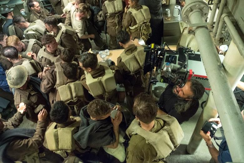 """Hoyte van Hoytema shooting """"Dunkirk"""""""