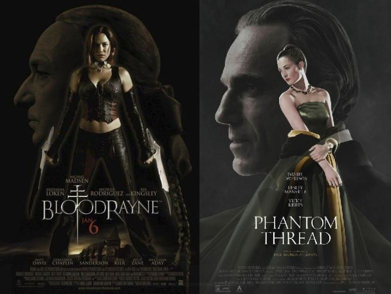 Bloodrayne Phantom Thread posters