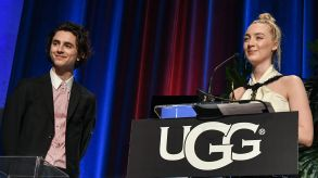 Timothée Chalamet and Saoirse RonanSanta Barbara Award, Show, 33rd Santa Barbara International Film Festival, USA - 04 Feb 2018