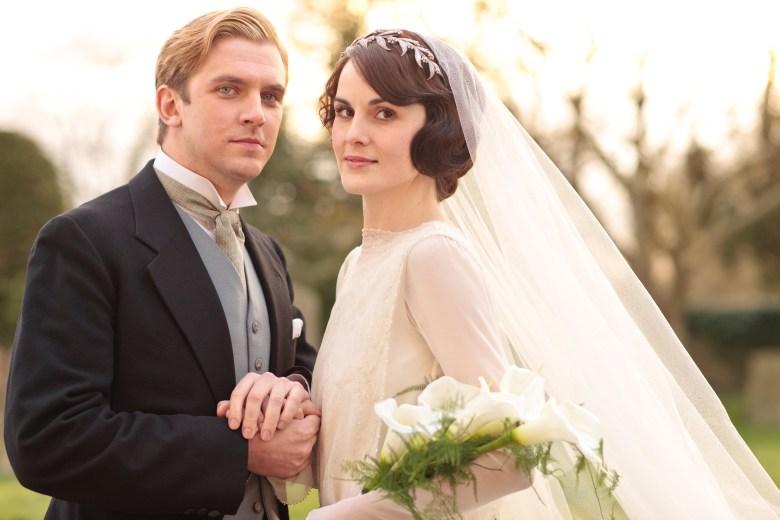 """Dan Stevens and Michelle Dockery, """"Downton Abbey"""""""