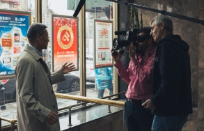 "Steve James directing the Oscar Nominated ""Abacus: Small Enough To Jail"""
