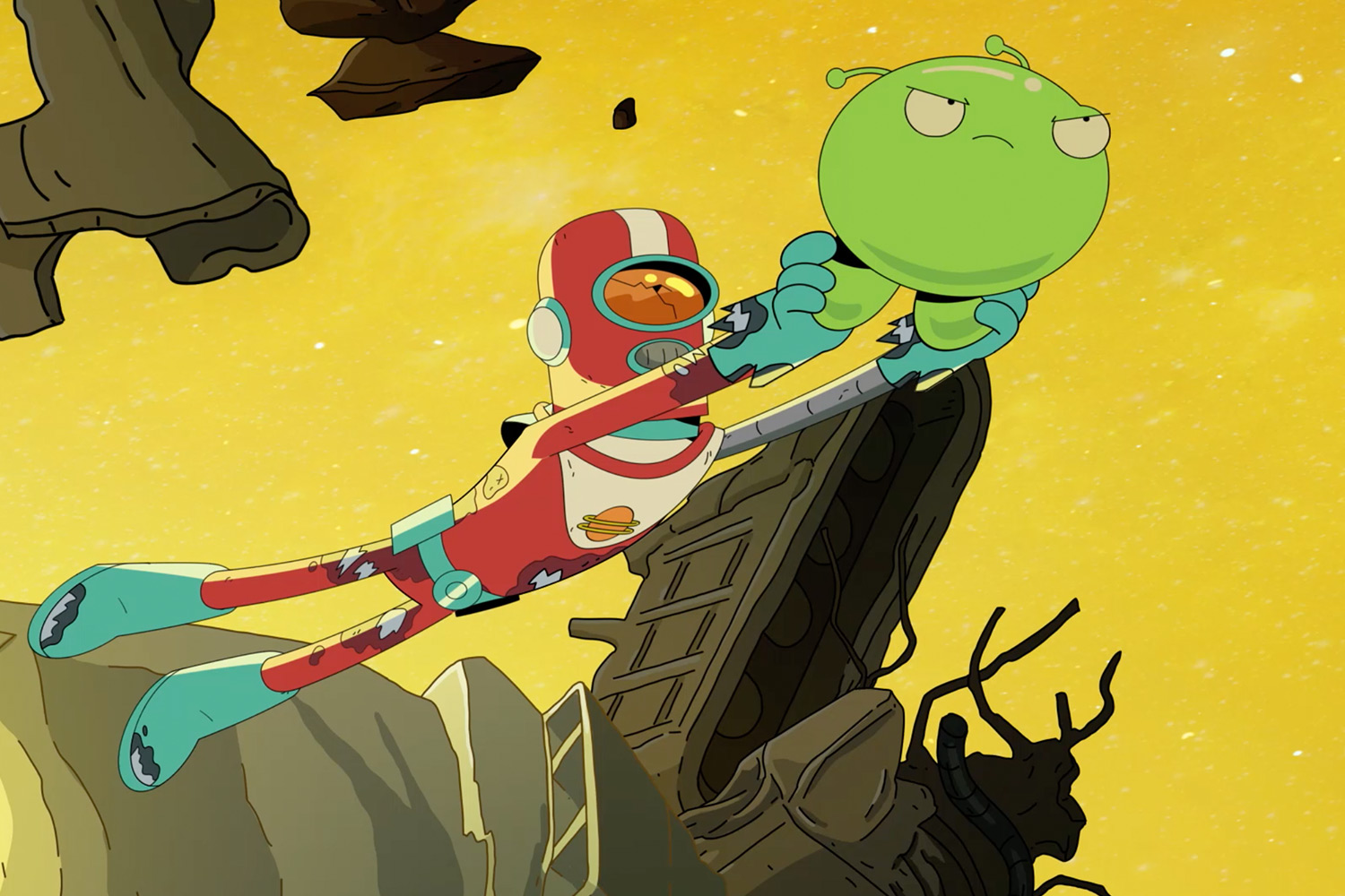 Final Space Review Tbs Animated Comedy Brings Mooncake To